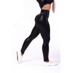 """656 TAMPRĖS High waist """"Sandra D"""" Glossy Juodos"""