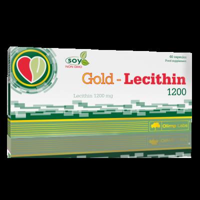 GOLD LECITHIN 1200 60kaps.