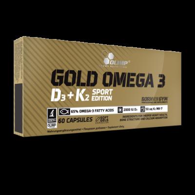 GOLD OMEGA 3 D3+K2 SPORT EDITION 60 KAPS.