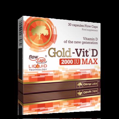 GOLD VIT D MAX 2000