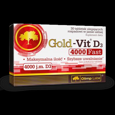 GOLD VIT D3 4000 FAST 30 TABL. OLIMP LABS