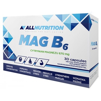 MAG B6 30 KAPS. ALL NUTRITION