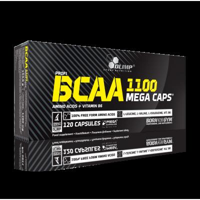 BCAA MEGA CAPS 120