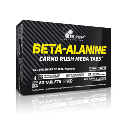 BETA ALANINE CARNO RUSH MEGA 80 TABL.