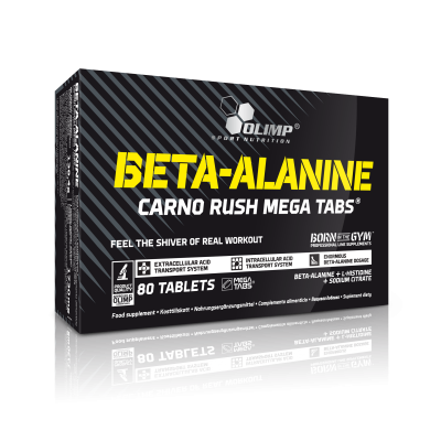 BETA ALANINE CARNO RUSH MEGA 80 TABL. OLIMP