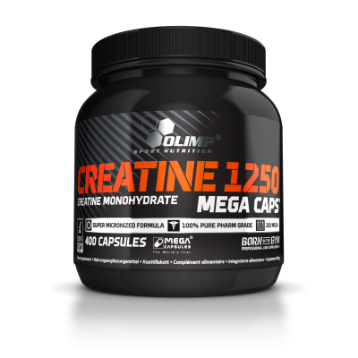 CREATINE MEGA CAPS 1250 400 kaps.