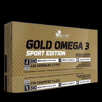 GOLD OMEGA 3 SPORT EDITION 120 KAPS. OLIMP