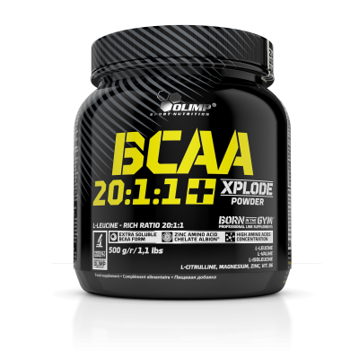 BCAA 20:1:1 XPLODE POWDER 500g OLIMP
