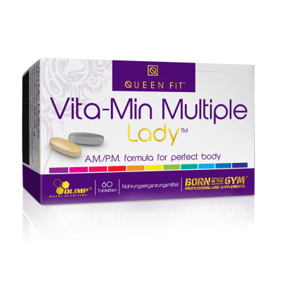 VITA-MIN MULTIPLE LADY 60 TABL. QUEEN FIT