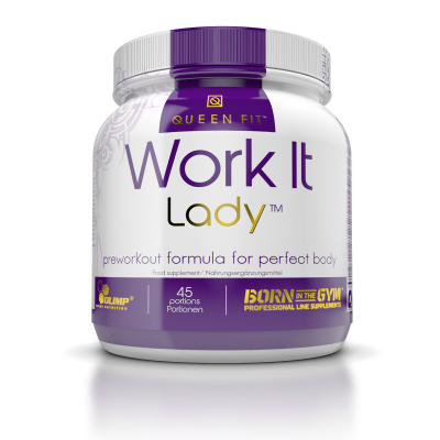 WORK IT LADY™ 337G. QUEEN FIT
