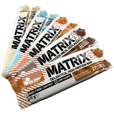 BATONĖLIS MATRIX PRO 32 BAR 80 G. OLIMP